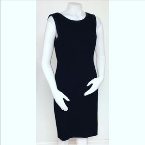 Talbots Black Career Dress